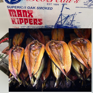 kippers are produced by George Devereau and Son Ltd of the Isle of Man.
