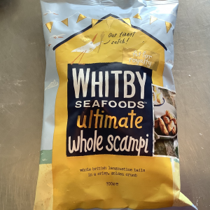 Whitby Breaded Scampi 700g catering pack